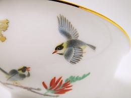 【釉上彩瓷】刺桐小碗