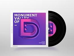 无限循环的字母-纪念碑谷
