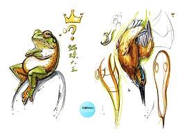 工业产品设计手绘之师法自然系列三  马赛(Mars)作品