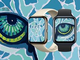 万物皆可盘  OPPO Watch 表盘创意设计《Beast Eyes》