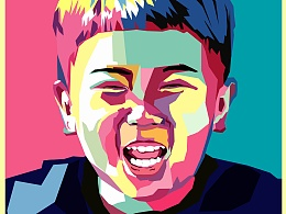 《他》——手绘创意肖像