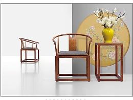 B-新中式家具摄影--传统与简约的融合