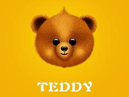 鼠绘泰迪熊