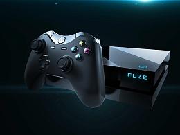 FUZE F1游戏主机发布会
