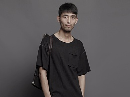【树叶树原创设计男装】2017夏新蕪岸系列男装T恤