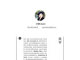 2017王静简历
