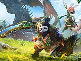 太极熊猫3-猎龙 海报设计