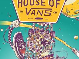 HOUSE OF VANS 2014 亚洲站 主题海报