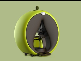泡茶机设计_全自动清理使用更舒适