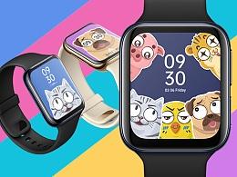 OPPO Watch表盘设计—小主们的爱宠系列