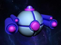 宇宙飞船建模
