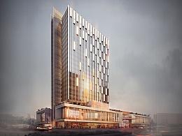 武威-酒店项目(建筑表现效果图) 4K