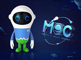 城市吉祥物IP设计-MOC。
