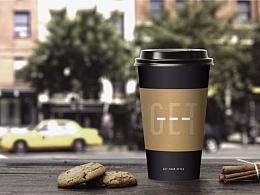 韩国CU便利店 咖啡品牌GET包装设计