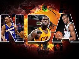 NBA海报