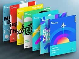 【每日海报计划】— 色彩排版练习