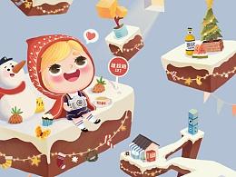 纪念碑谷·圣诞暖冬