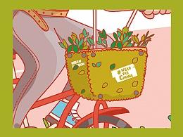 插画 | C&A环保棉产品图案