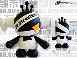 原创_BK.StreetKids绷带街童公仔