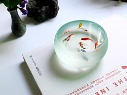 被定住的鱼缸