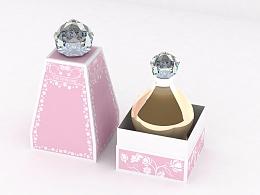 钻石の香水盒-外盒设计