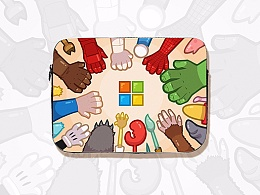 """""""抢一哈""""  Surface Book 2 电脑包设计"""