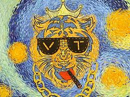 腾讯王卡品牌形象设计-Vincent.Tiger