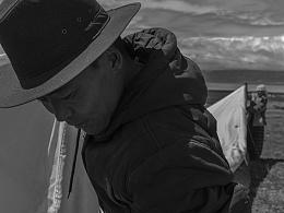 「行摄之路」玛旁雍错边上的藏族人家