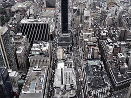 纽约帝国大厦上的景观[手机拍的]
