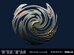 博郡logo《风雨无阻--伞》