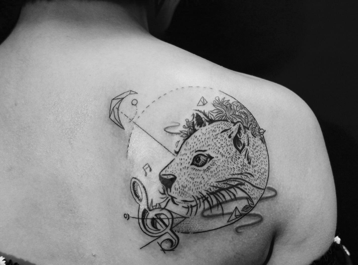 2018年最有创意的纹身分享展示