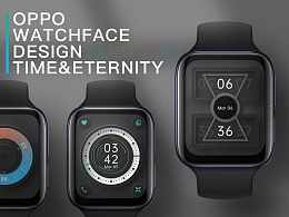 OPPO时光与永恒系列表盘设计