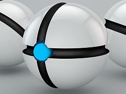 【C4D练习】精灵宠物球(新版)