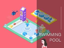 SWIMMING POOL - 2.5D