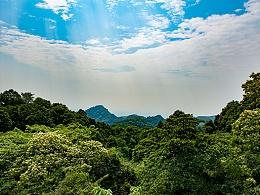 上到江源第一峰,徒步旅拍青城山