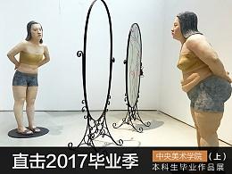 2017中央美院本科生毕业展现场报道(上)#2017毕业展#