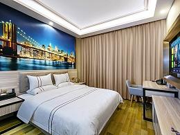 酒店建筑拍摄-杭州榴莲e家酒店