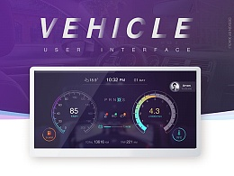 vehicle UI design -车载UI