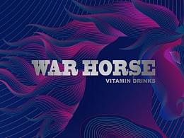 《战马能量饮料》包装&品牌设计