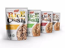 食品包装 - 泰国米饼 - RICE CRISPS