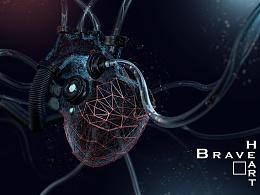 Braveheart_C4D脑热系列