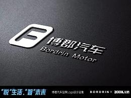 博郡汽车品牌logo方案