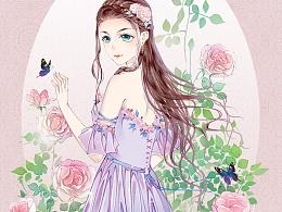 骑士的新娘。封面