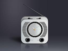 写实收音机
