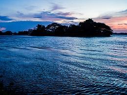 斯里兰卡.湖边.黄昏
