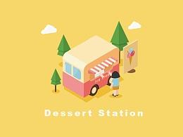 2.5D甜品小屋