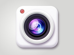 一枚用sketch画的相机icon