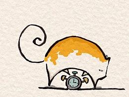 建议横着食用更佳-猫想你没道理。