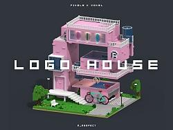 LOGO房子/PF