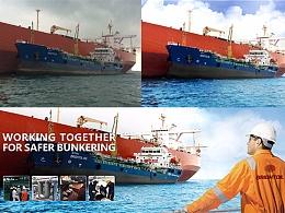 光汇石油-海上供油banner设计过程
